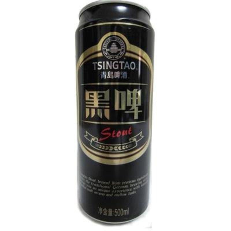 青岛啤酒黑啤12度500ml*12罐