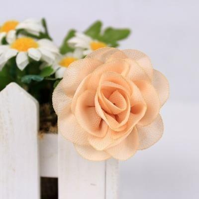 equte依特 韩版 时尚 雪纺 女 小清新 可爱 新款小胸花/头花xctw10