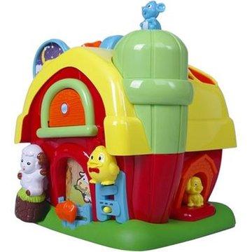 婴儿玩具 彩虹 积木农场 小动物发光发声音乐玩具 儿童益智玩具