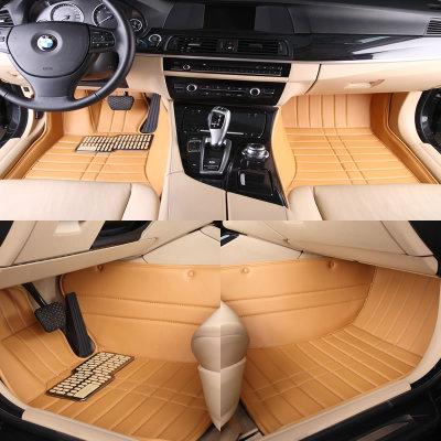 科弘 大众 新桑塔纳 专用全包围汽车脚垫(古铜棕色 新